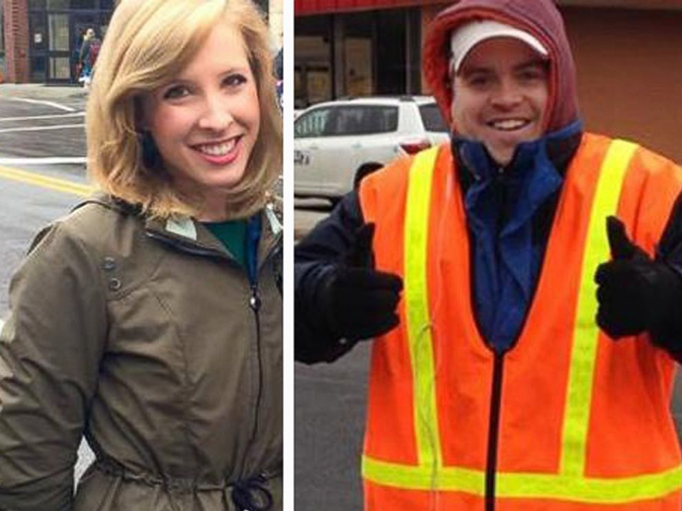 PHOTO: Alison Parker, 24, and Adam Ward, 27, were killed during a live news segment in Moneta, Va., Aug. 26, 2015.