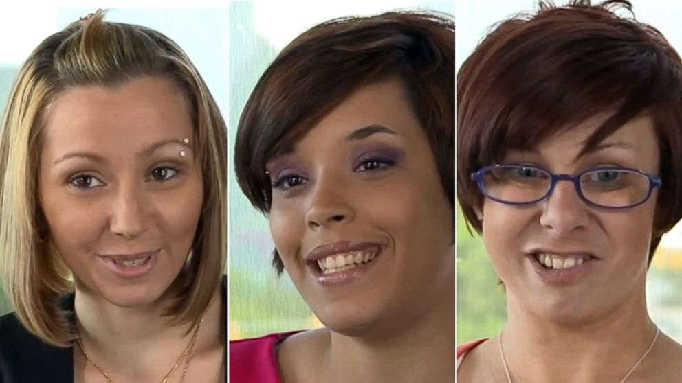 PHOTO: Amanda Berry, Gina DeJesus and Michelle Knight, left to right, are shown in this image.