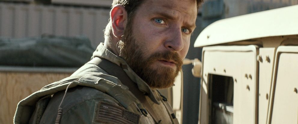 "PHOTO: Bradley Cooper appears in a scene from ""American Sniper."""
