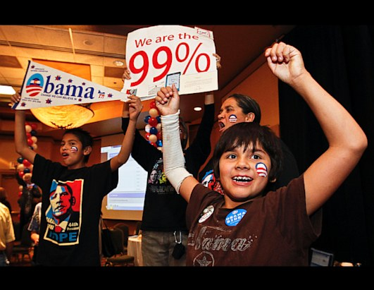 Obama Re-election Celebrations Around the World
