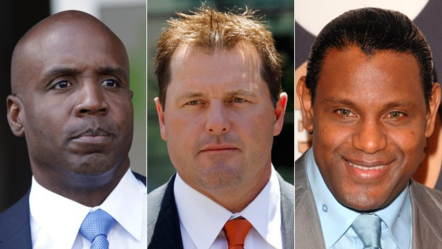 PHOTO: With the cloud of steroids shrouding the candidacies of Barry Bonds, Roger Clemens and Sammy Sosa, baseball writers on Jan. 9, 2013, might not elect anyone to the Hall of Fame for only the second time in four decades.