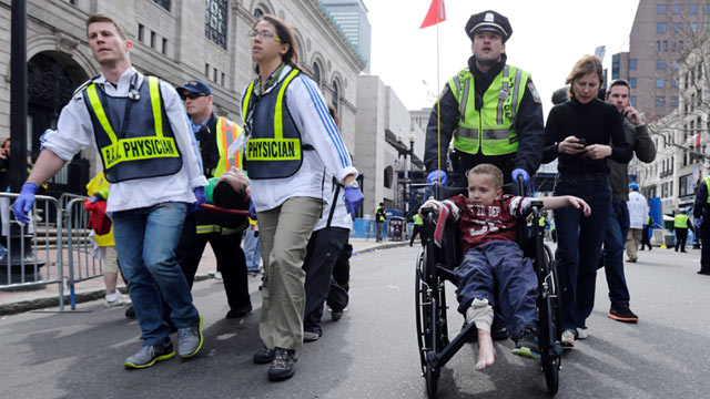 Kids Hit Hard by Boston Marathon Explosions