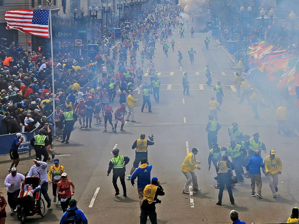 Boston Marathon Bombing - ABC News infographic