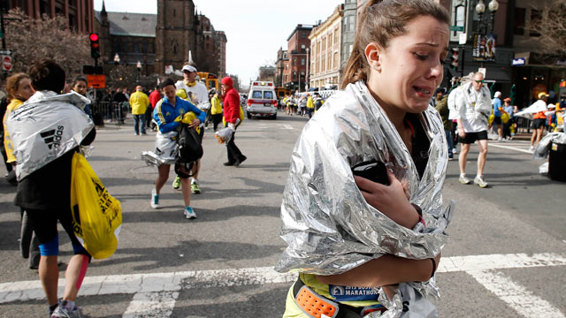 Doctor Running in Marathon Tended to 'Piles of Victims'