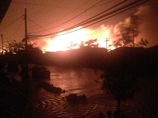 Inside Breezy Point: An Inferno in a Flood