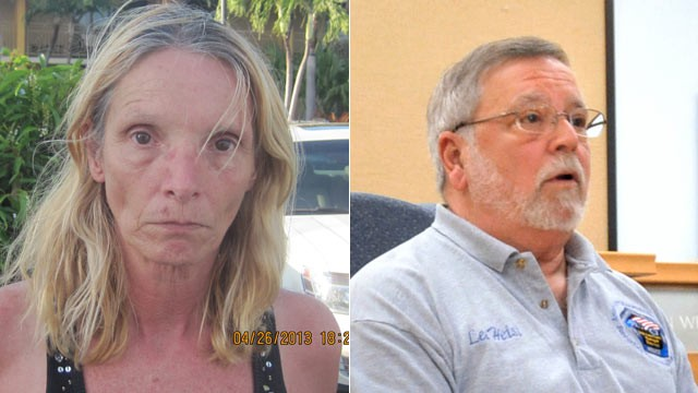 PHOTO: Brenda Heist (L), who mysteriously disappeared after dropping off her children for school 11 years ago, has surfaced in Florida.  Her ex-husband, Lee Heist (R), spoke at a news conference on May 1, 2013.