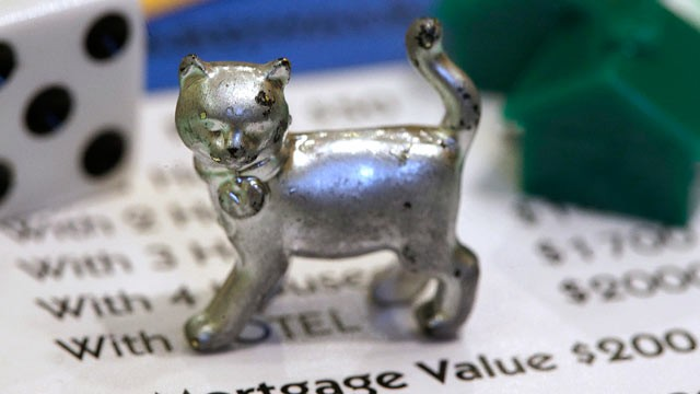 abcnews reports monopoly gamers spoken choosing cat token good-bye iron