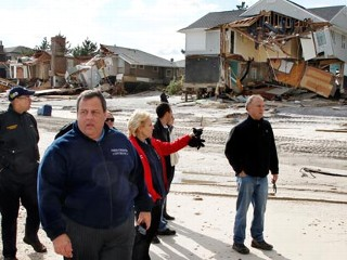 Christie's Sandy Contracts Criticized