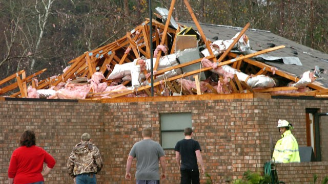 Severe Weather Spawns 34 Tornado Reports From Texas To Alabama