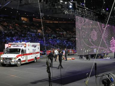 Circus Audience First Thought Accident Was Part of the Act