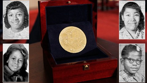 ap congressional gold medal promo nt 130425 wblog Birmingham Church Bombing Victims Honored on 50th Anniversary