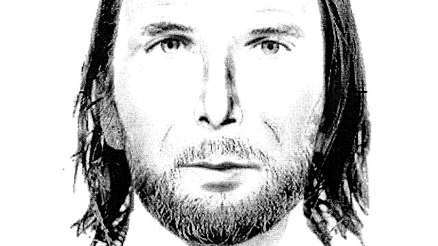 PHOTO: Sketch of man who may have been seen driving car registered to the Curriers