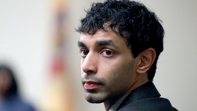 PHOTO: Dharun Ravi, the former Rutgers University student waits before court proceedings  in New Brunswick, N.J, March 9, 2012.