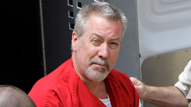 PHOTO: Former Bolingbrook, Ill., police sergeant Drew Peterson arrives at the Will County Courthouse in Joliet, Ill., M