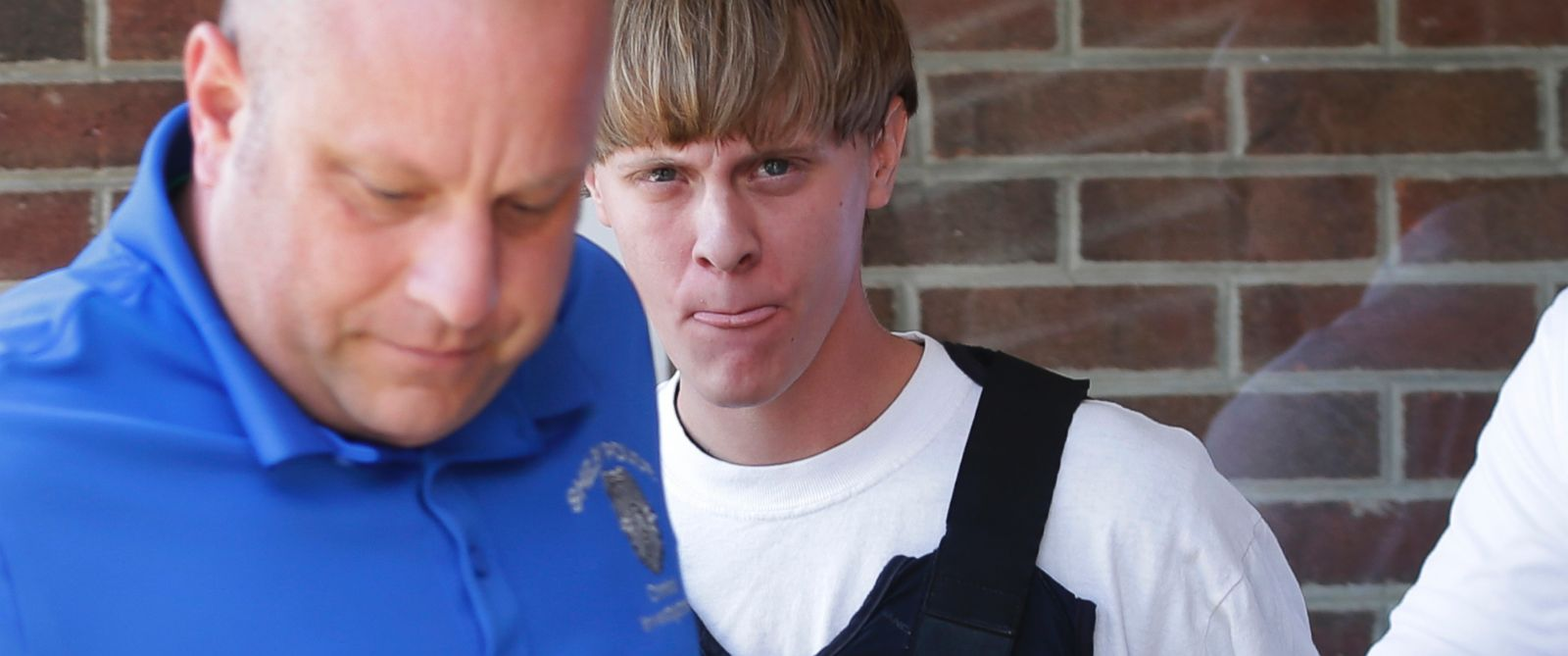 PHOTO: Charleston, S.C., shooting suspect Dylann Storm Roof is escorted from the Sheby Police Department in Shelby, N.C., June 18, 2015.