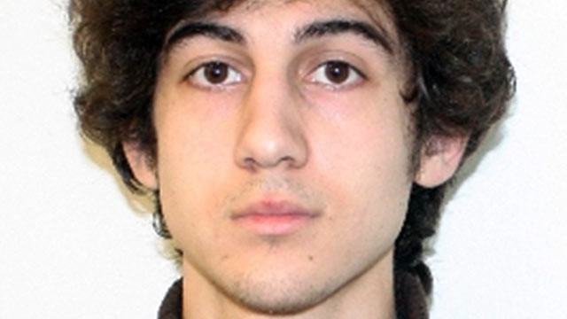 PHOTO: This Federal Bureau of Investigation shows a suspect that officials identified as Dzhokhar Tsarnaev, being sought by police in the Boston Marathon bombings.