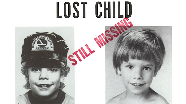 PHOTO: Poster provided by Stanley K. Patz shows a flyer distributed by the New York Police Department of Patzs son Etan who vanished on May 25, 1979, and has never been found.
