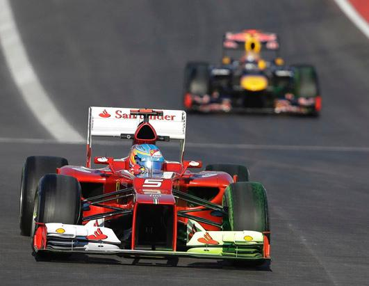 2012 Formula One Race