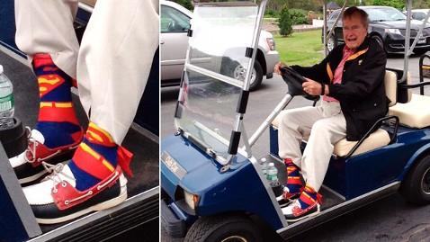 ap george bush socks nt 130612 wblog Instant Index: HW Bush: Show Me Your Socks