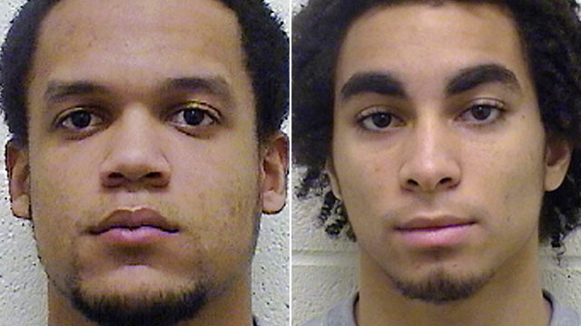 PHOTO: Torrington High School football players Edgar Gonzalez, left, and Joan Toribio, are charged with felony second-degree sexual assault and other crimes in February in cases involving different 13-year-old girls.