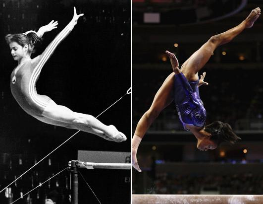 Olympic Bodies Then and Now