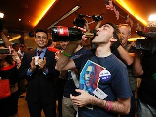 Photos: Obama Re-election Celebrations Around the World