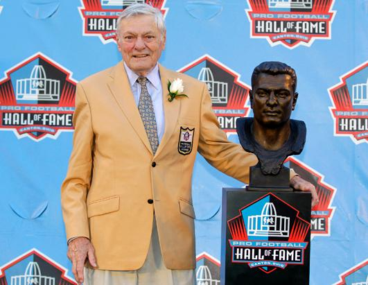 Former NFL Hall of Fame Football Player Jack Butler Dies
