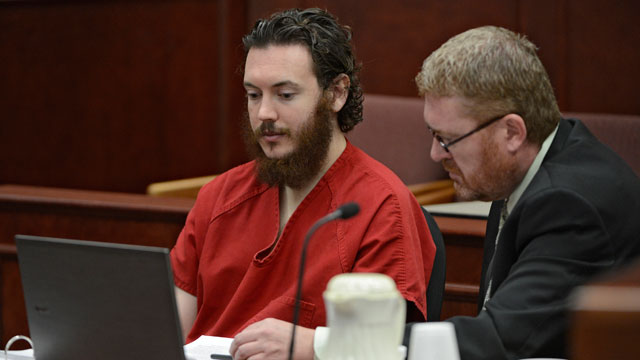 PHOTO: Accused Aurora theater shooter James Holmes appeared in a Centennial, Colo., court, June 4, 2013 for a plea hearing.