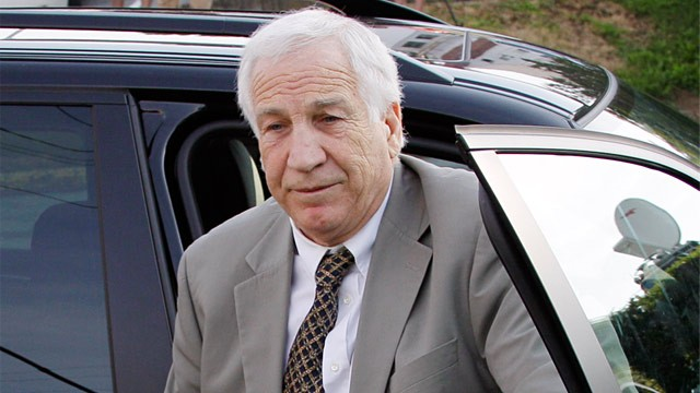 Sandusky Trial: Victim 1 Cries on Stand in Penn State Sex Abuse Case ...