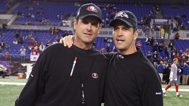 PHOTO: Jim and John Harbaugh
