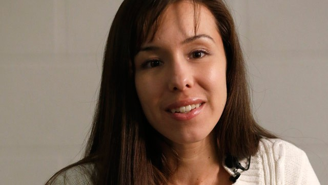 PHOTO: Convicted killer Jodi Arias speaks about her possible fate during an interview at the Maricopa County Estrella Jail on Tuesday, May 21, 2013, in Phoenix.
