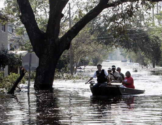 Boat Evacuation