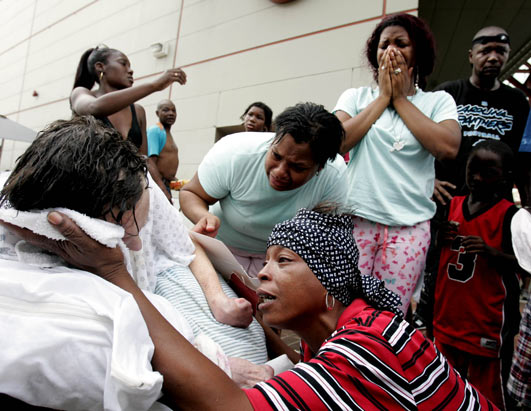 (Eric Gay/AP Photo). Hurricane Katrina