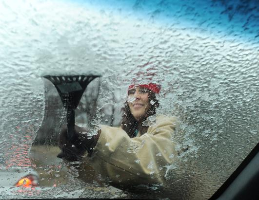 Freezing Temperatures Hit U.S.