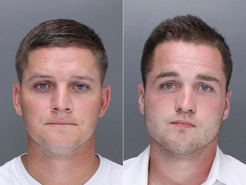 PHOTO: Kevin Harrigan and Philip Williams appear in these undated photos provided by the Philadelphia Police Department. They are charged along with Kathryn Knott in the beating of a gay couple during a late-night encounter on a city street.