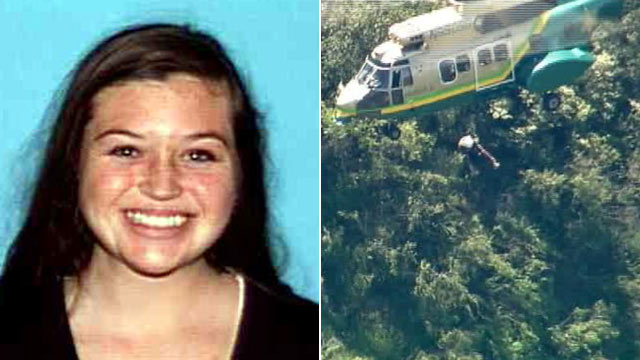 PHOTO: Missing hiker Kyndall Jack, 18, was found in Southern Californ