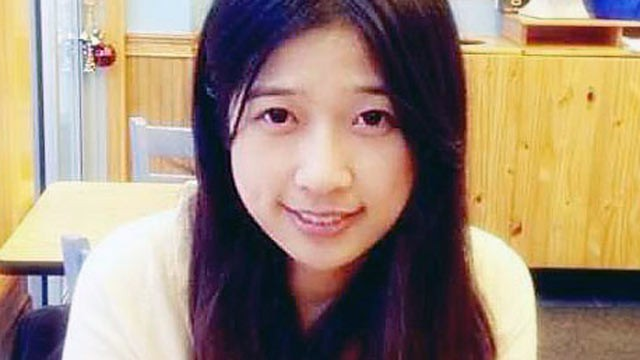 PHOTO: Lingzi Lu, who was studying mathematics and statistics at Boston University, was among the people killed in the explosions at the Boston Marathon, April 15, 2013.