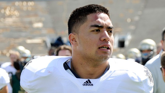 PHOTO: Manti Teo