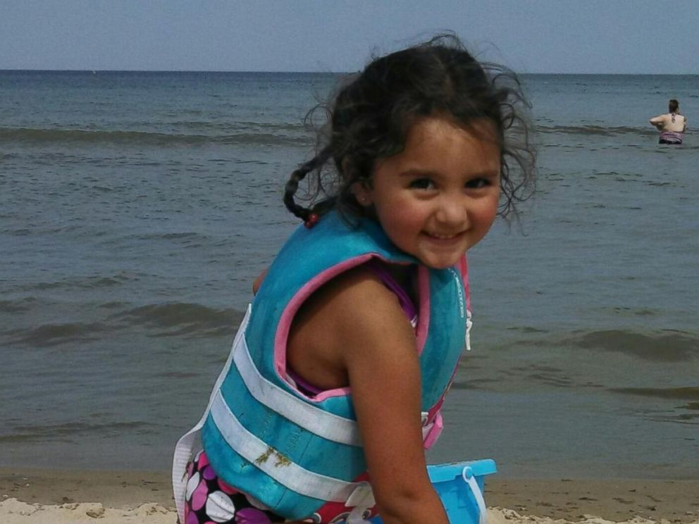 PHOTO: This undated photo released Saturday, Nov. 8, 2014 by the Milwaukee Police Department, shows Laylah Petersen, who died after being shot in the head while sitting on her grandfathers lap Thursday.