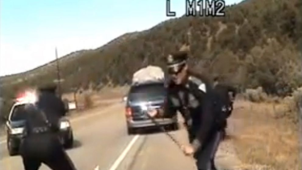 New Mexico Officer in Van Shooting Is Fired