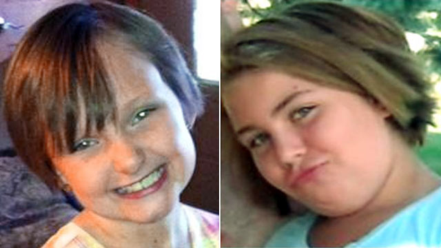 PHOTO: Cousins Lyric Cook, 10, right, and Elizabeth Collins, 8, have been missing since July 13, 2012.