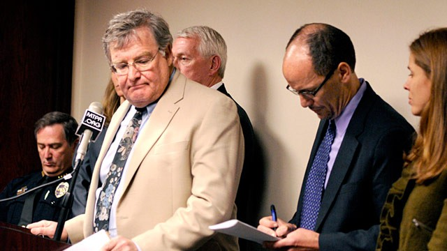 Missoula County Attroney Fred Van Valkenburg, left, steps away from the ...