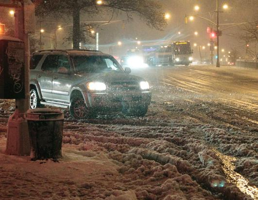 Winter Weather Hits Northeast