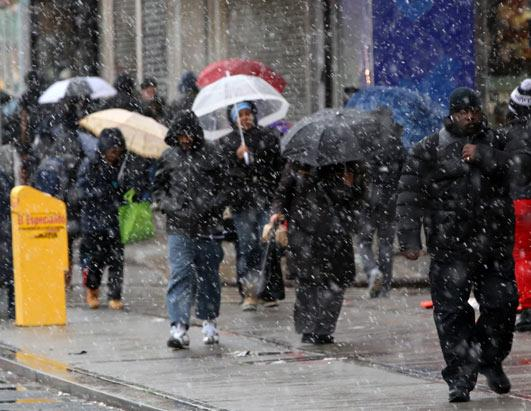 Northeast Braces for a Blizzard