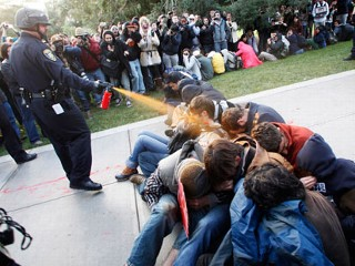 Infamous Pepper-Spraying Officer Out