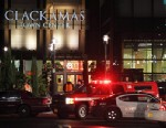 PHOTO: Emergency personnel stand by outside the Clackamas Town Center in Portland, Ore., Dec. 11, 2012.