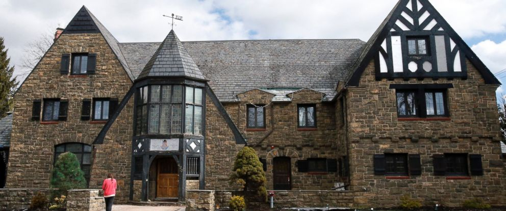 PHOTO: The Kappa Delta Rho fraternity house, March 17, 2015, at Penn State University in State College, Pa.