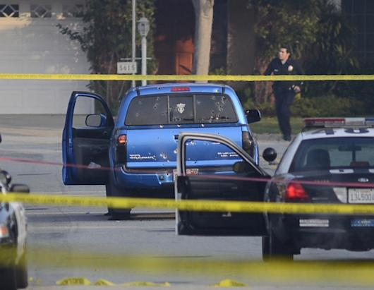 Former LAPD Officer Suspect in Shooting