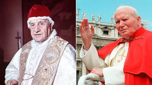 ap pope johnxxiii johnpaulii mi 130705 16x9 608 5 International Stories Youll Care About This Week