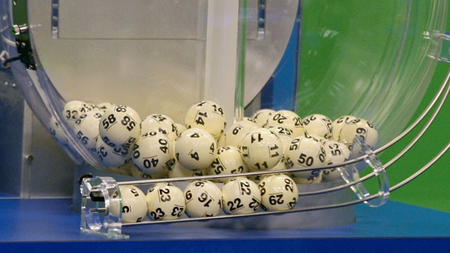 PHOTO:&nbsp;Powerball numbers are chosen in the drawing at the Florida Lottery on Wednesday, Nov. 28, 2012, in Tallahassee, Fla.